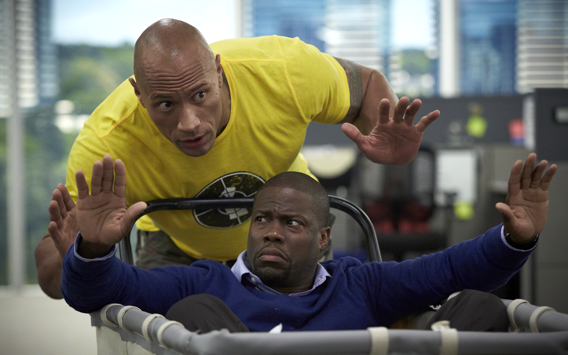 Central Intelligence ©2016 Warner Bros.